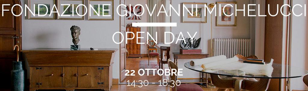 Open day alla Fondazione Giovanni Michelucci