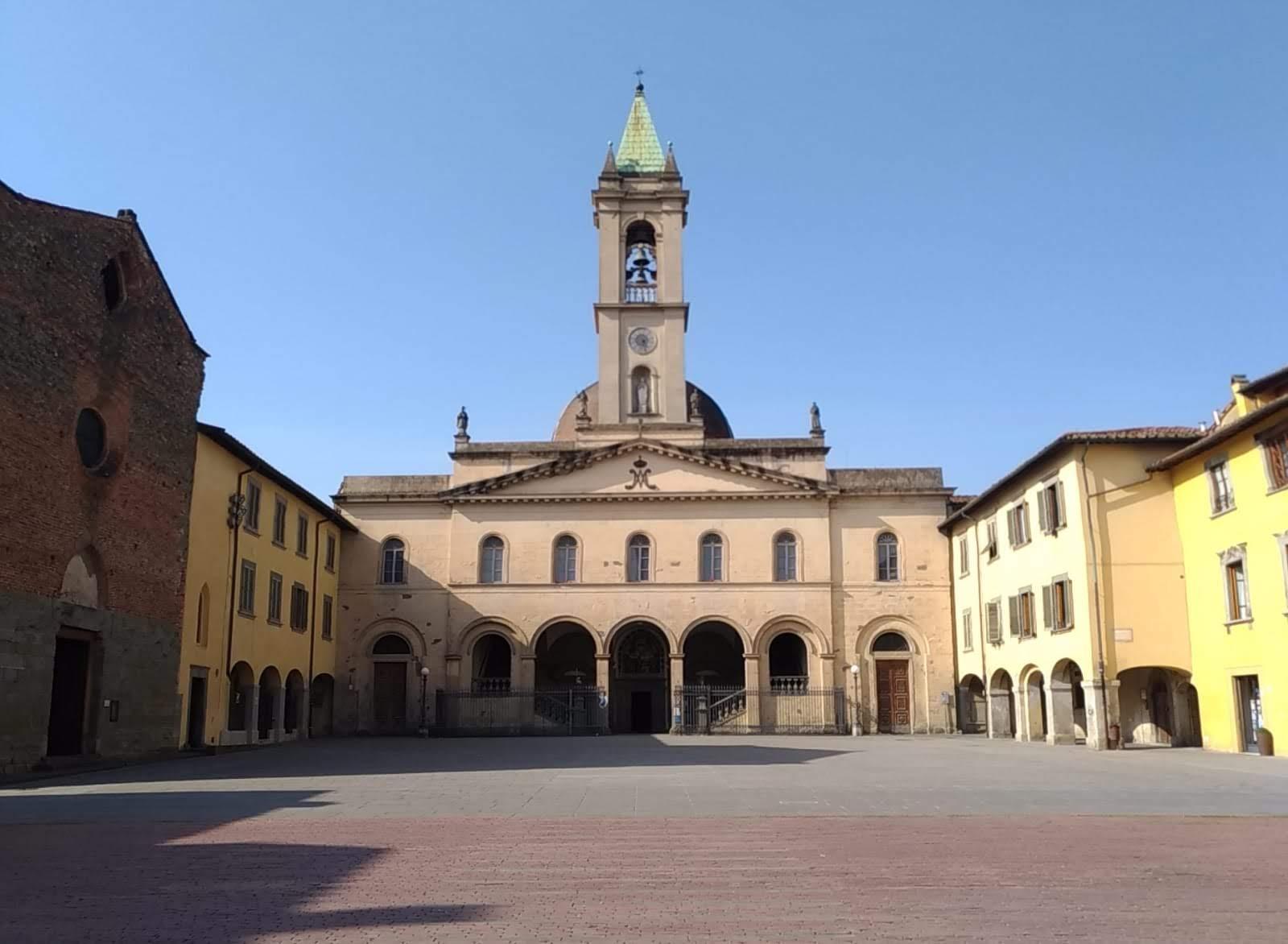 San Giovanni Valdarno, piazza della Basilica: domenica ore 10.00